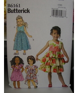 Toddler Sewing Pattern Dresses sizes 2-5 UNCUT 6161 - $1.99