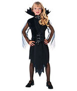 Girls Midnight Eterna Halloween Costume Size 5-7 Years Old - $18.00
