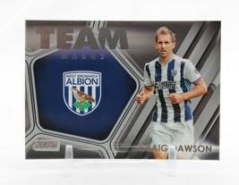 2015-16 Topps Stadium Club Soccer Craig Dawson West Brom Albion Team Mar... - $5.55