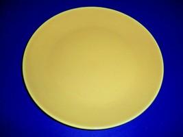 Vintage Homer Laughlin Rhythm Yellow Dinner Plate  - $9.85