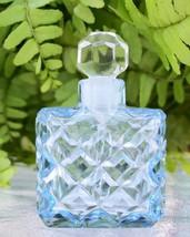 Vintage Czech Perfume/Scent Bottle~BLUE~Dauber Intact~Rare~Miniature~Col... - $159.99