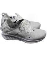 PUMA Ignite evoKnit Lo White-Vaporous Grey - Peacoat - Women's Size 5.5 ... - $84.14
