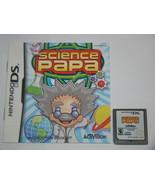 Nintendo DS - SCIENCE PAPA (Game & Manual) - $15.00