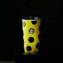 Starbucks Citron Dot Double Wall Traveler, 12 fl oz W/Red Holiday Gift Box 2015 - $66.66