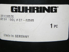 GUHRING HSK63 A TOOLHOLDER CT-62596 14X120 W/ 14MM SOLID CARBIDE STEPDRILL image 6