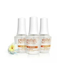 Harmony Gelish UV Gel PH Bond Nail Prep 0.5oz x 3 Bottles - $18.02