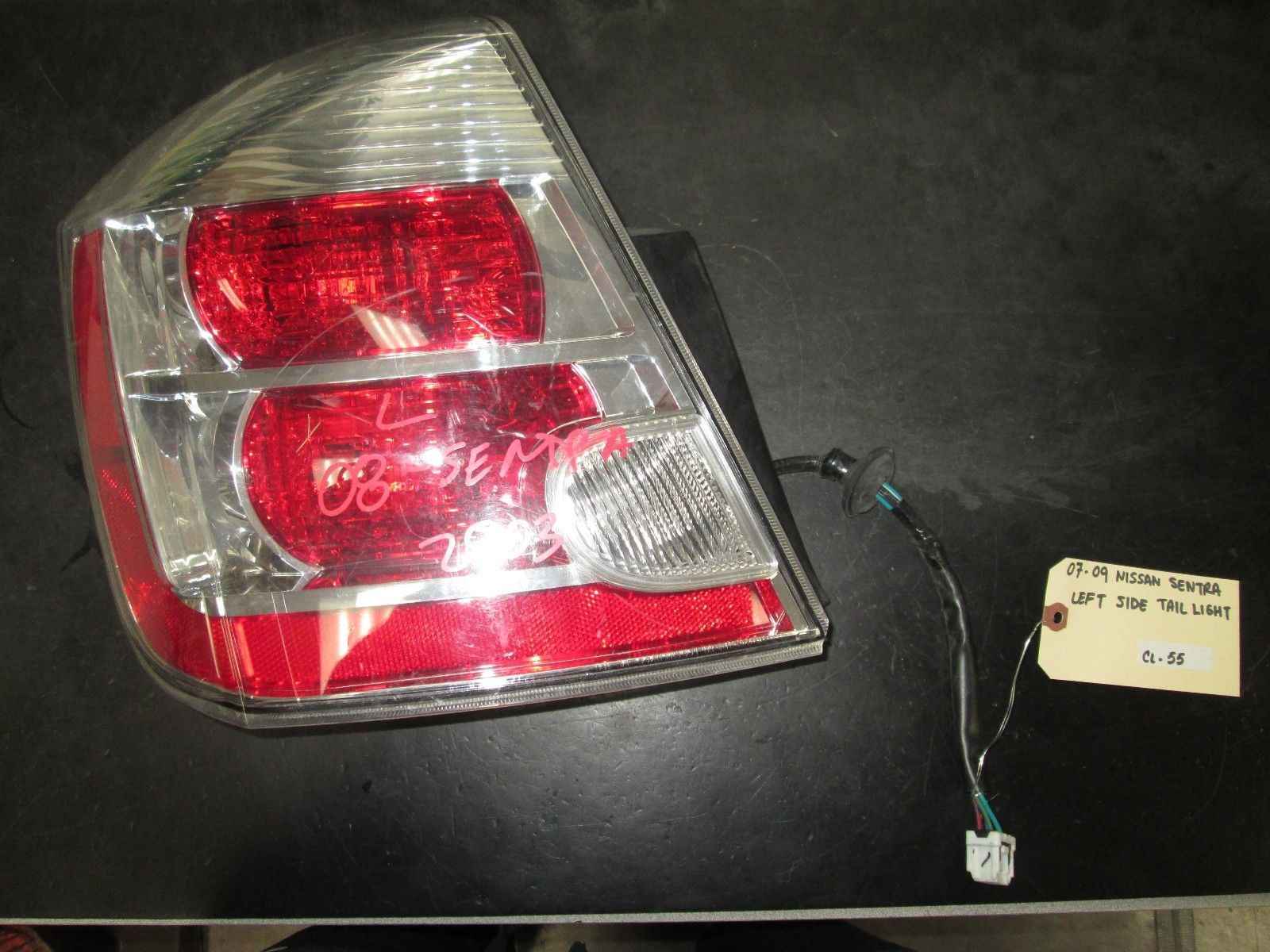 Primary image for 07 08 09 NISSAN SENTRA LEFT SIDE TAIL LIGHT