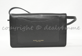 e95932bb112f MARC By Marc Jacobs M0008178 Recruit Crossbody Shoulder Wallet Bag in Black  - £151.22