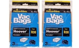 Hoover Vacuum Bags Style R30 by HomeCare - $5.94