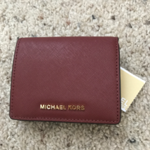 NWT MICHAEL Michael Kors  Jet Set Travel Carryall Card Case Credit card Wallet - $59.39