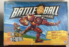 Battleball Board Game FUTURE OF FOOTBALL Milton Bradley Miniature Players 2003 - $14.03