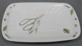 "Pfaltzgraff Portfolio Naturewood Pattern 14 1/4"" Rectangular Platter Made In Usa - $39.59"