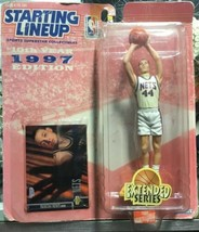 Starting Lineup 1997 NBA Extended Keith Van Horn Rookie New Jersey Nets - £3.29 GBP