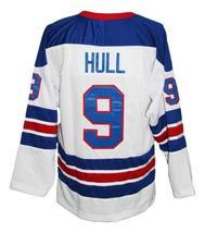 Custom Name # Winnipeg Jets Wha Hockey Jersey New White Bobby Hull Any Size image 4