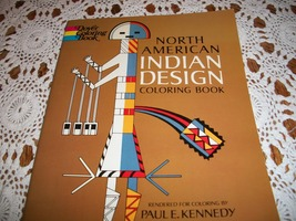 Vintage North American Indian Design Coloring Book - $15.00