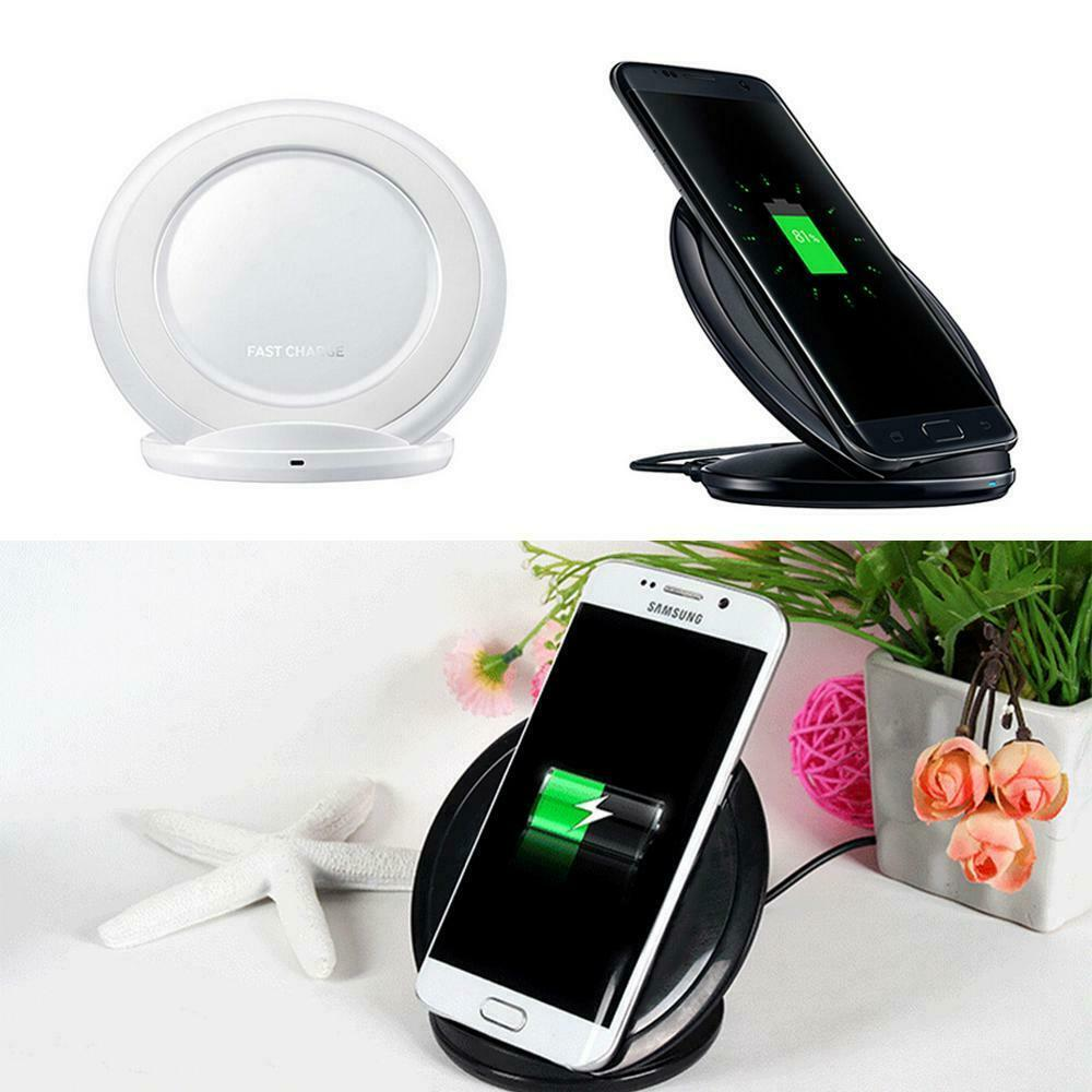 For Samsung Fast Wireless Charger Charging pad For Samsung Galaxy S7 edge / S7