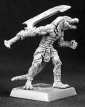 Devourer of Ammat Nefsokar Reaper Miniatures Warlord Lizardman Fighter Melee - $4.94