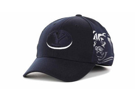 Brigham Young Cougars - Top Of The World Deja Vu Flex Fit Ncaa CAP/HAT -LARGE/XL - $17.09