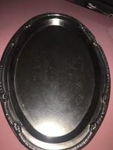 Aluminum Metal Serving Plate  - $5.82