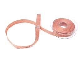 Metallic Thread Rose Gold Reversible Ribbon 15mm *3 Lengths* - $4.45+