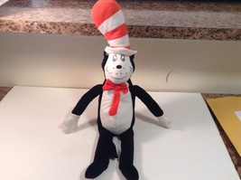 "Kohls Plush Cat In The Hat Dr Suess 2012 Plush 22"" tall VGC CUTE - $11.29"