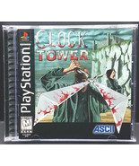Clock Tower (Sony PlayStation 1 1997) PS1 Game Complete - $90.00