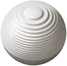 """1"""" x 14"""" x 12"""" White, Round With Lines And Light - Outdoor Ball - $230.51"""