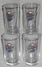 Set (4) Oriental Brewing Company 7 oz LAGER GLASSES South Korea - $15.83