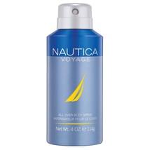Nautica Voyage Body Spray, 4 Fluid Ounce - $8.83