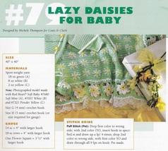 Lazy Daisies Baby Layette Set, Crochet Pattern BYOB Build Ur Own Binder ... - $2.95