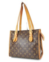Authentic LOUIS VUITTON Popincourt Haut Monogram Shoulder Tote Bag Purse... - $479.00