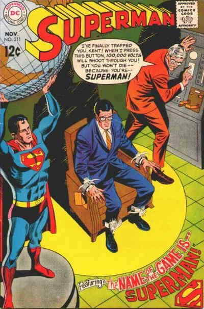 Primary image for Superman (1st Series) #211 VG; DC | low grade comic - save on shipping - details