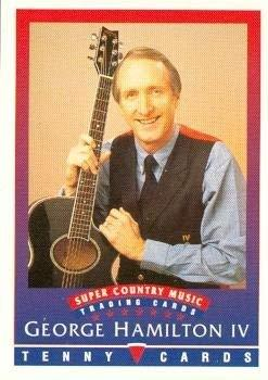 Primary image for George Hamilton IV trading Card (Super Country Music) 1992 Tenny