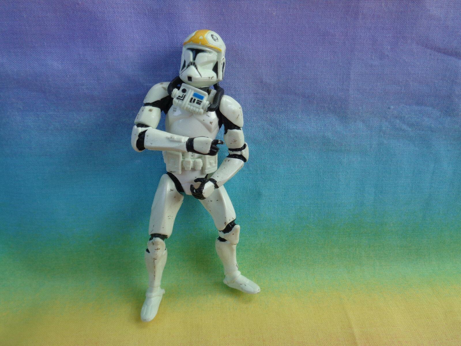 2000 Hasbro Star Wars Clone Trooper Action Figure - as is