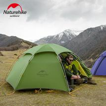 NatureHike Camping Tent 2 person Outdoor Silicone Ultralight Tents hikin... - $308.95