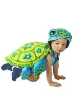Princess Paradise Mare Tartaruga Animale Bambino Neonato Costume Halloween - $42.05