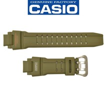 Genuine Casio G-Shock Green Watch Band Strap GA-1100KH-3A 10531393 - $33.25