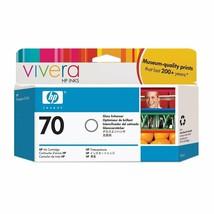 HP 70 130-ml Gloss Enhancer DesignJet Ink Cartridge (C9459A) - $82.12