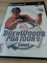 Sony PS2 Tiger woods PGA Tour 2001 - $4.00