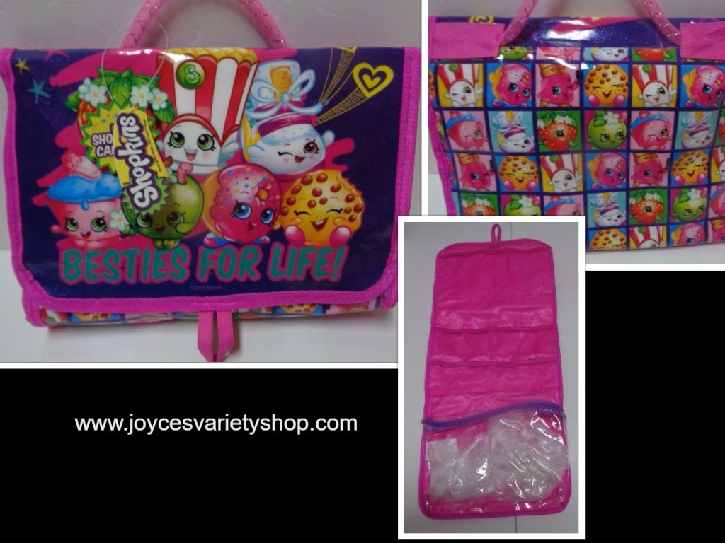 Primary image for Shopkins BESTIES FOR LIFE Girl's Travel Bag NWT Pink