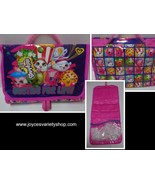 Shopkins BESTIES FOR LIFE Girl's Travel Bag NWT Pink - $12.99
