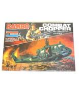 New Sealed Monogram 1985 Superscale RAMBO COMBAT CHOPPER 1:24 MODEL KIT  - $81.18