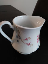 Meadows Flowers Fine Porcelain by Shafford Japan Creamer/Pitcher image 3