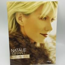 Natalie Grant Stronger Piano Guitar Vocal Book Sheet Music Christian 2001 - $30.01