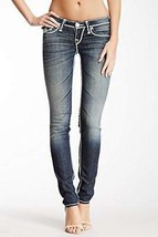 True Religion NAT Mega T Flap Pocket Skinny Jean, Bhed Old Rosewood, 24 - $49.49