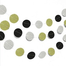 Wrapables 26ft Total Paper Circle Dot Garland Party Decorations for Wedd... - £13.13 GBP