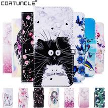 Flip Leather Case Xiaomi Redmi 7 Case For Coque Redmi 4A 5 Plus Note 5 6 7 4 4X  - $7.99+