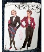 New Look #6161 Jacket Skirt Trousers, Cummerbund 6sz - $2.00