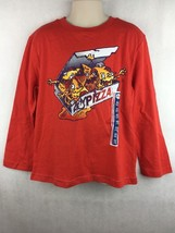 NWT Circo Boy's Red Long Sleeve Graphic Funny Shirt Zompizza Size XS 4 / 5 - $14.84