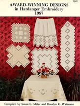 Award-Winning Designs in Hardanger Embroidery 1987 Meier Watnemo Pattern... - $5.37